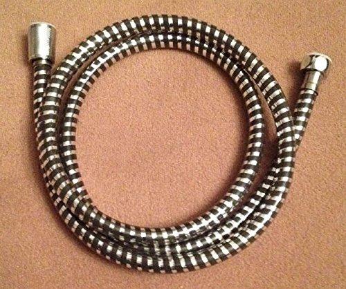 Preisvergleich Produktbild BENEFIT 242-2 Duschschlauch Brauseschlauch Brause PVC Schlauch 150cm Schwarz/silber