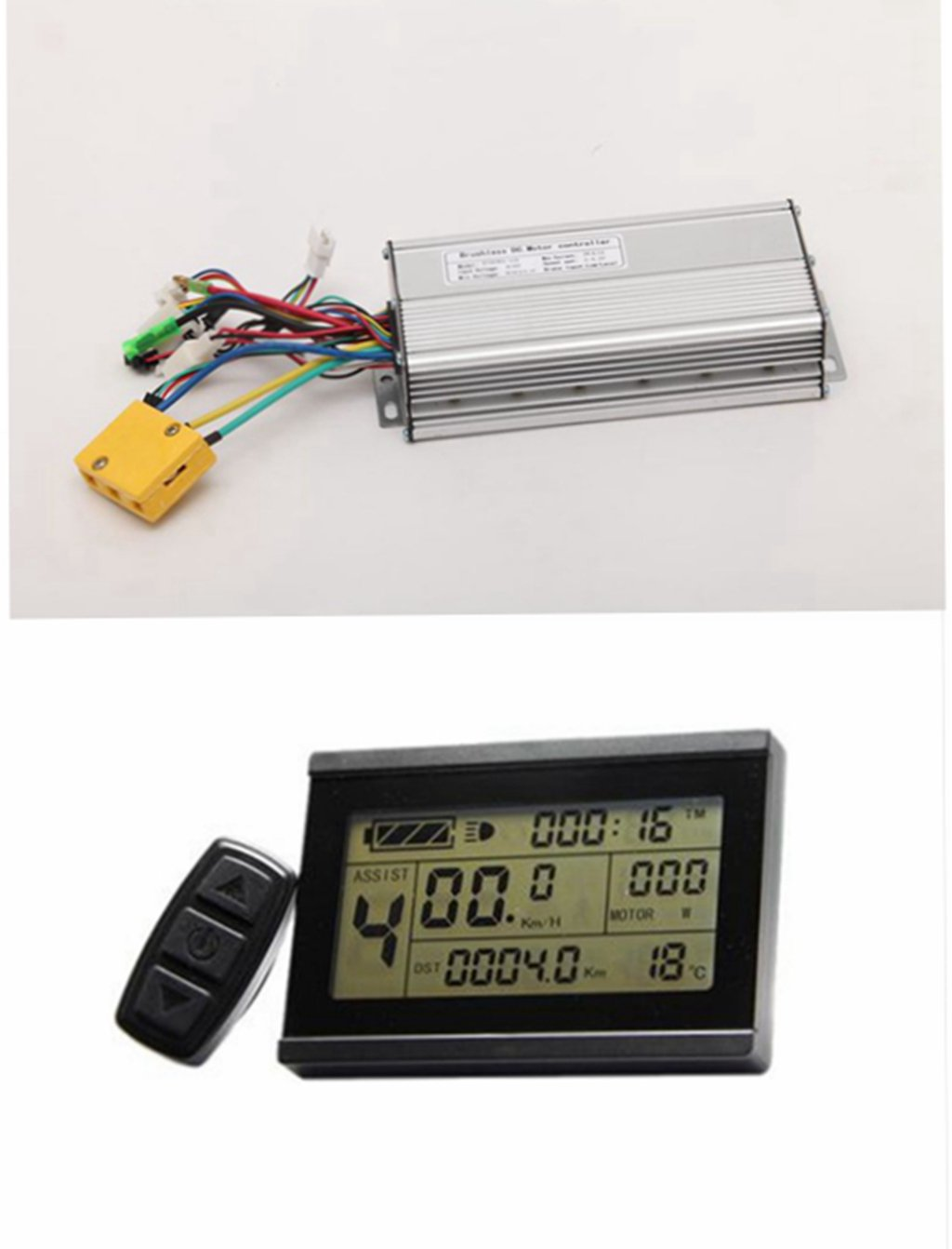 61gjz kZoHL - NBPOWER 48V 1500W 35A Brushless DC Motor Controller Ebike Controller +KT-LCD3 Display One Set,used f