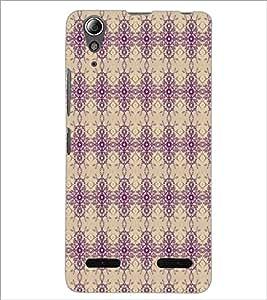 LENNOVO A6000 PLUS PATTERN Designer Back Cover Case By PRINTSWAG
