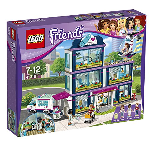 Preisvergleich Produktbild Lego Friends 41318 - Heartlake Krankenhaus