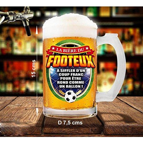 Chope la bière du footeux