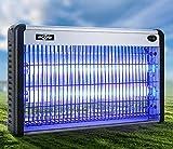 Kommerzielle LED-Moskito-Mörder-Lampe, ultra-leise keine Strahlung Photokatalysator-Moskito-Lampe, Aluminiumlegierung + ABS , Doppeltes Lampenrohr , Purpurrotes Licht fliegt...