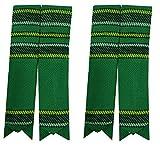 Schottische Kilt-Flashes, verschiedenen Tartanstoffe, spitz zulaufend Gr. Large, Mehrfarbig - Irish National