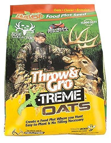 Evolved Harvest Throw & Gro Xtreme Oats Deer Food Plot