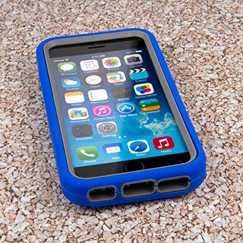 """MPERO IMPACT XL Series Ständer Case Hülle Tasche for Apple iPhone 6 4.7"""" - Blau Blau"""