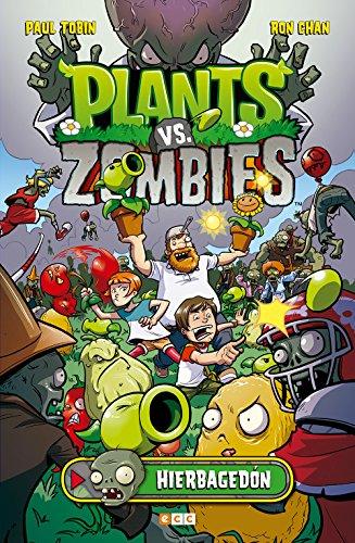 Plants vs Zombies 1 Lawnmageddon por Paul Tobin