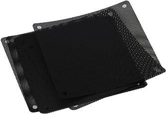 WARHAMMER BQLZR 120mm PVC Black PC Cooler Fan Dust Filter Dustproof Case Cover Computer Mesh - Pack of 10
