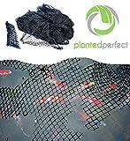 Teichnetz – Gartenteichnetz 4,5m x 6m , 27 qm leicht aufzubauend, Abdecknetz Vogelschutznetz,...