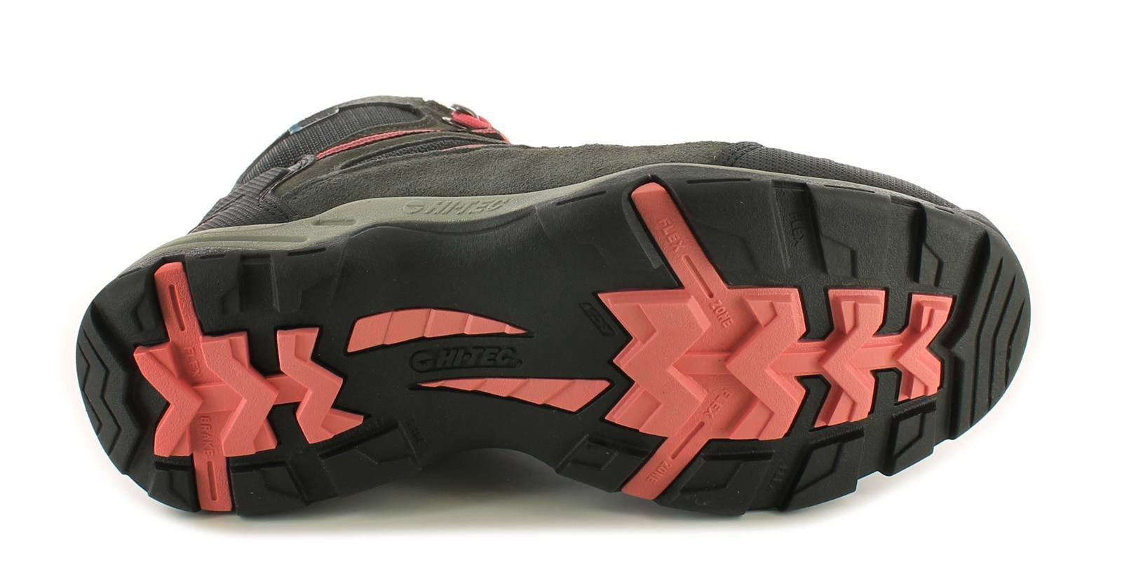 61gkNkfSsYL - Hi-Tec Bandera II Mid WP Women's Walking Shoes