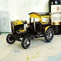 Antiguo Antiguo Vintage Coche Casa Modelo Mostrar Productos De ArtesaníA Y Regalos , Yellow , 23