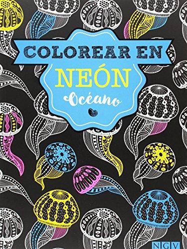 Descargar Libro Océano. Colorear En Neon (Colorear en neón) de Vv.Aa.