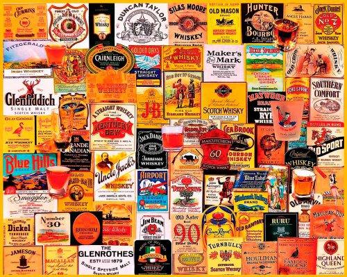 "Preisvergleich Produktbild Jigsaw Puzzle 1000 Pieces 24""X30""-Great Whiskies"