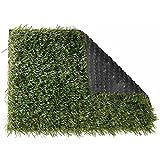 Nature Kunstrasen 1x2m Rasenteppich Kunstgras Fertigrasen Teppich grün 6030571