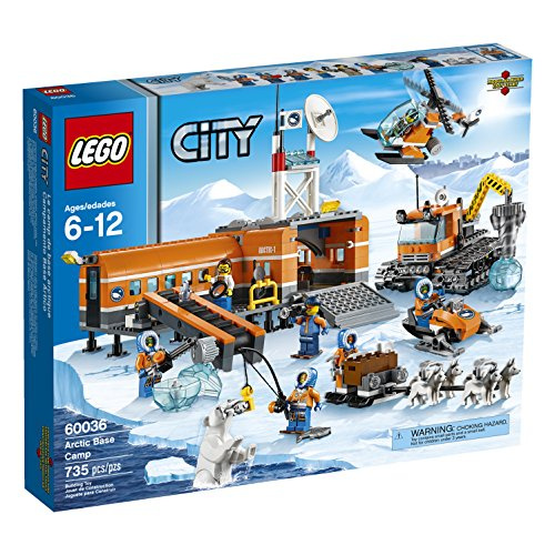 Preisvergleich Produktbild LEGO City Arctic Base Camp 60036 Building Toy