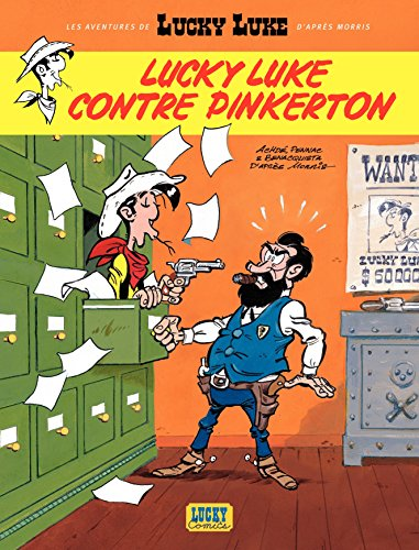 Aventures de Lucky Luke d'après Morris (Les) - tome 4 - Lucky Luke contre Pinkerton (4)
