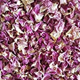 Naturally Dried Pink Rose Petals For Wedding Confetti Hand Made Soaps Bath Bombs Bath Salts Aromatherapy Products Cosmetics Organically Certified Petals 100% Biodegradable (50 Grm, PINK)