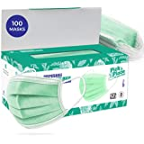 CAREVIEW™ 3 Ply Disposable Surgical Mask With Built in Metal Nose Pin and 1 Melt Blown Layer