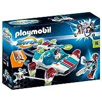 Playmobil 9002 Super 4 FulguriX with Agent Gene