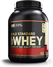 Optimum Nutrition Gold Standard 100% Whey Protein Isolate Powder, Vanilla Ice cream, 5 lb