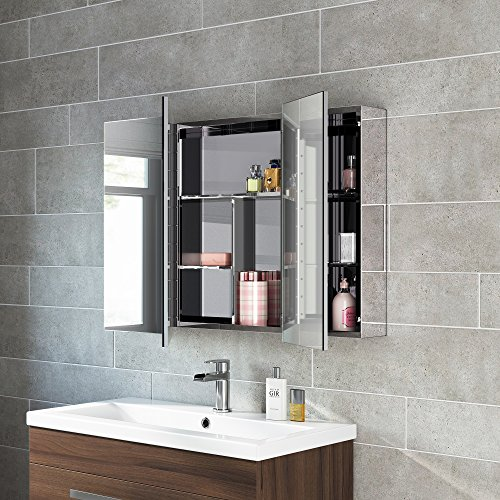 stainless steel mirror cabinet bathroom 600 x 900 stainless steel bathroom mirror cabinet modern 26645