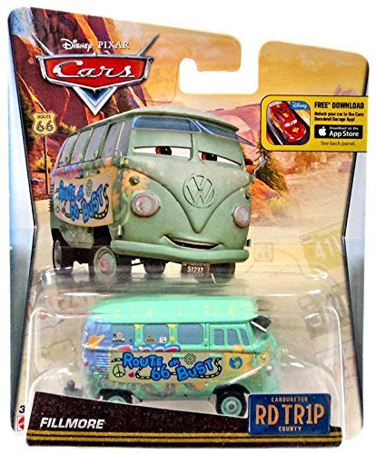 Disney/Pixar Cars, Carburetor County Road Trip, Fillmore Die-Cast Vehicle