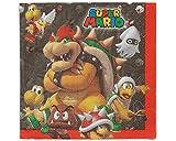 Amscan 511554 33 cm Super Mario Luncheon Napkins