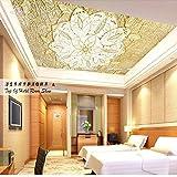 Europea high-end senza sfondo wallpaper 3d Wallpaper der soffitto soffitto il tetto Affresco vetro Padiglione soffitto
