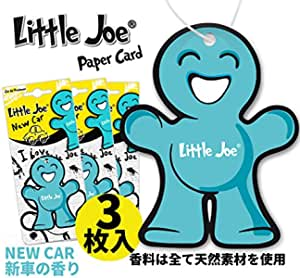 Little Joe 265010 Lufterfrischer Paper Duft Türkis New Car Blau Auto