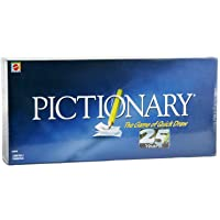 TYRUS ONE Pictionary Board Game - The Game of Quick Draw