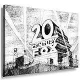 Bild auf Leinwand Banksy Graffiti Art Nr-52976 XXL Wandbilder und Kunstdrucke auf Leinwand Bilder fertig gerahmt auf Holzrahmen - GRÖSSE WÄHLBAR !! kein Poster oder Plakat / Günstiger als Ölbild Gemälde / Leinwanddruck, Keilrahmenbilder (Bild - 70x50cm)