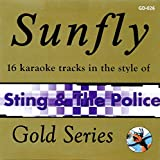 Sunfly Karaoke Gold Series 026- Sting & The Police (CD+G)