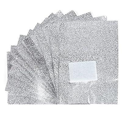 Bluelans® 100 UV Gel Polish Soak Off Foil Removal / Remover Wraps, Nail Art, Acrylic, Shellac