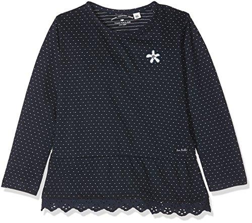 -Mädchen T-Shirts 1/1 Langarmshirt, Blau (Real Navy Blue 6593), 74 ()