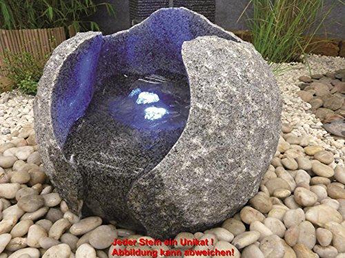 Granit- Kugel Milano, Kpl.-Set, Ø 40 cm Wasserspiel mit Pumpe