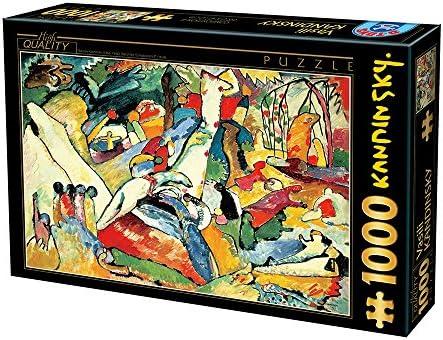 Générique D-Toys D-Toys D-Toys 1 1000 pièces Puzzle, Kandinsky | Pour Gagner L'éloge Chaleureux De La Part Des Clients  14ced2