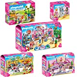 PLAYMOBIL® City Life 5er Set 9078 9079 9080 9081 9082 Einkaufspassage + Babyausstatter + Café