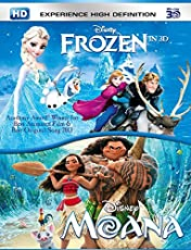 Moana & Frozen (3D)