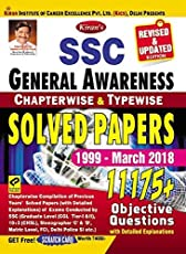 Kiran's SSC General Awareness Chapterwise & Typewise Solved Papers 10600+ objective questions 1999 - April 2017 – English Get Free CD & Scratch Card with General knowledge arihant Latest Edition 2018-2020