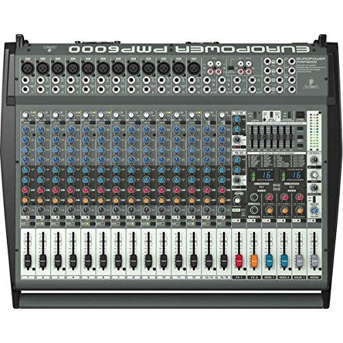 Behringer Europower PMP6000 Table de mixage amplifiée 20 canaux 1600 W