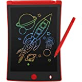 VeeDee Colorful LCD Writing Tablet, 8.5 Inch Multi-Color Electronic Drawing Pad Portable Handwriting Graphics Doodle Board fo