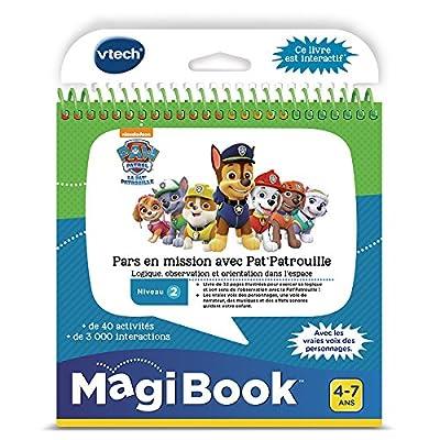 VTech Paw Patrol Magibook-La Pat' Patrouille, 480205