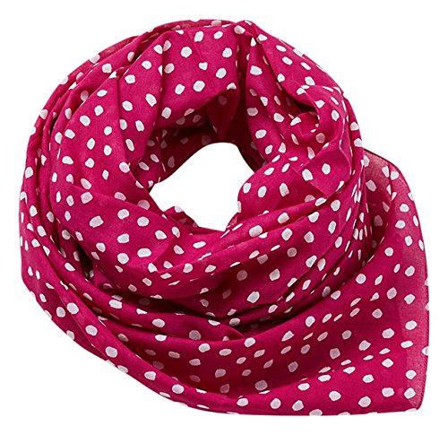Edc by Esprit Accessoires 077ca1q003 Bufanda, Rosa Dark Pink 650, Talla única para Mujer