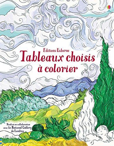 Tableaux choisis  colorier