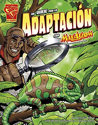 Un Viaje Por La Adaptación Con Max Axiom, Supercientífico (Ciencia Grafica / Graphic Library) por Agnieszka Biskup