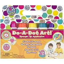Do-A-Dot Art set applicatori in spugna, multicolore, 3.68x 21.59x 18.41cm