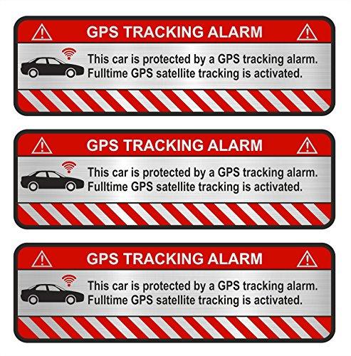 Finest-Folia 3X GPS Aufkleber Fa...