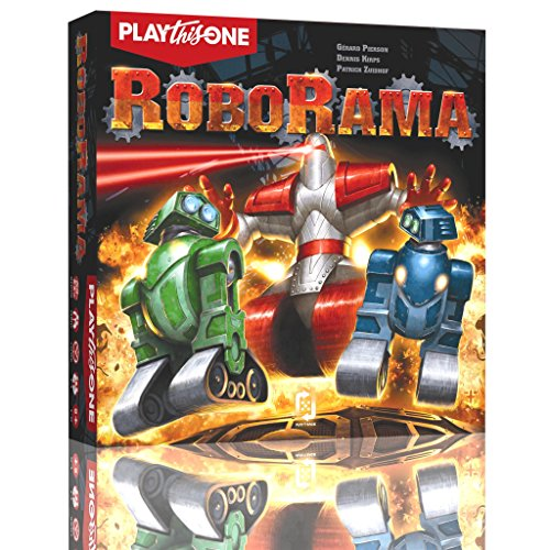 PlayThisOne 11460 - Robo Rama Brettspiel