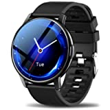 LEMFO Smart Watch For Men, Full Touch Screen With 24 Sports Modes Smartwatch, Heart Rate Monitor Blood Pressure Sleep…