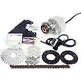 L Faster 24 V36 V48 V 450 W Electric Conversion Kit Electric Metal Trike Single Motor Electric Rikscha Kit My1020z 450 W Brushed Gear Motor Sport Freizeit