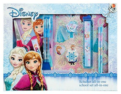 Undercover FRZH7293 Kindergartentasche, Disney Frozen, ca. 21 x 22 x 8 cm Schulset All in One